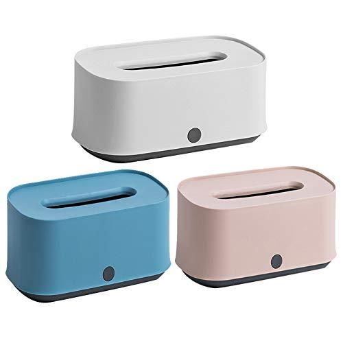 LINGGE Toilet Roll Houder Houders Stand Gratis Staande ABS materiaal woonkamer salontafel home desktop opslagdoos (3 stuks)