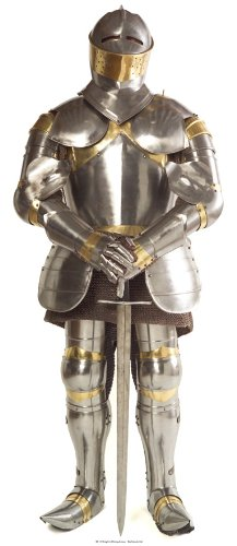 Expositor de cartón caballero en armadura de soporte Standup de cine de cartón soporte de Card Board vida grande life-Size Standup