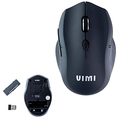 Vimi Raton Mouse Sin Cable Gamer Optico 2.4 GHz Wireless Pc Mac