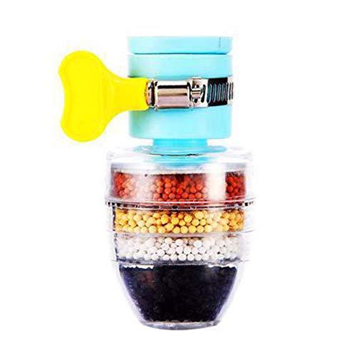 Takyojin Purificador de Agua Multifuncional, Ducha a Prueba de Salpicaduras, Grifo de Cocina para el hogar, Agua del Grifo, Filtro de eliminación de Arena y purificación de Agua x2