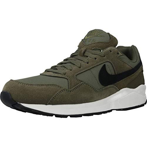 Nike Herren AIR Pegasus '92 LITE SE Laufschuhe, Grün/Schwarz/Weiß (Medium Olive Black Sail 200), 42 EU