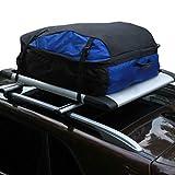 ChenBing Wasserdichter Autodachträger 100% wasserdichte Dachfrachttasche Top Carrier Aufbewahrungsbox Dach ohne Gestelle (Farbe : Schwarz, Größe : 116x80x40)