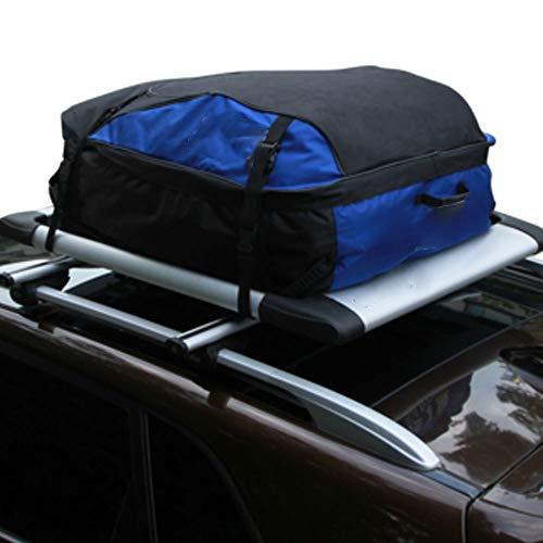 Subobo Auto Dakkoffer 100% Waterdichte Dakkoffer Top Carrier Opbergdoos Daktop Zonder Rekken Zwarte Auto Achterrekken & Accessoires