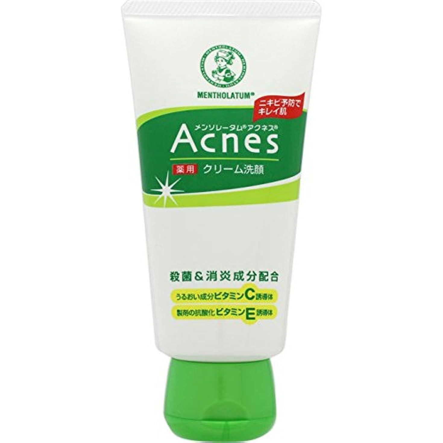 乱用ピクニックをする構造的【医薬部外品】メンソレータム アクネス ニキビ予防薬用クリーム洗顔 130g