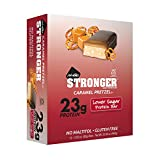 Nugo, Bar Box Stronger Caramel Pretzel 12 Count, 33.84 Ounce