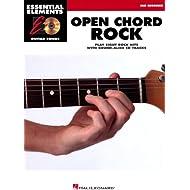 Hal Leonard abierto Chord guitarra Rock elementos esenciales canciones libro/CD Mid principiante