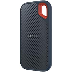 SanDisk 250GB Extreme Portable External SSD – Up to 550MB/s – USB-C, USB 3.1 – SDSSDE60-250G-G25