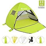 Best Beach Canopy For Winds - Pasinaz Beach Canopy Beach Tent Sun Shelter Pop Review