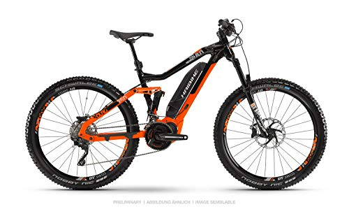 HAIBIKE Sduro FullSeven LT 8.0 27.5'' Pedelec E-Bike MTB Arancione/Nero 2019: Taglia: M