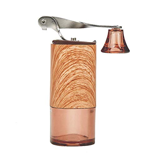Espresso machine Duurzaam Manual Koffiemolen Reizen Huis handkoffiemolen Multifunctionele Koffiemolen Molen Met Spiraal Keramisch Slijpen Core Geniet van vers gemalen koffie (Kleur: Wit, Maat: 135 * 5