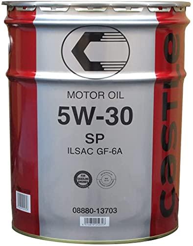 TOYOTA [ トヨタ ] キャッスル [ CASTLE ] 5W30 [ SP/GF-6 ] 鉱物油 [ 20L ] 08880-13703