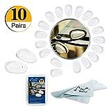 R.G Accessories - Juego de 5 almohadillas de silicona para la nariz de Oakley