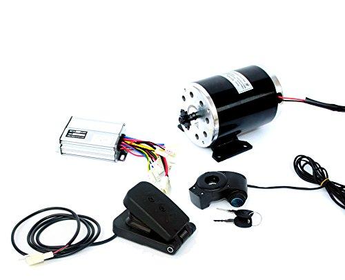 24V36V48V 500W Elektromotor Brushed DC-Motor Kit Elektro Scooter Motor MY1020 UNITE Motor Electric Scooter Conversion Kit E-Bike-Motor-Kit