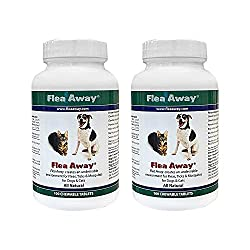 Flea Away All Natural Flea, Tick, and Mosquito Repellent for Dogs and Cats