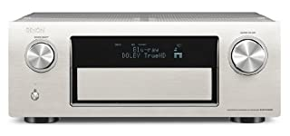 Denon AVR-X4000 SP 7.2 Surround Netzwerk AV-Receiver (Internetradio, 4k-Video, AirPlay, 3x HDMI, DLNA, HD-Audio, 200 Watt) silber (B00CD4TKO8) | Amazon price tracker / tracking, Amazon price history charts, Amazon price watches, Amazon price drop alerts