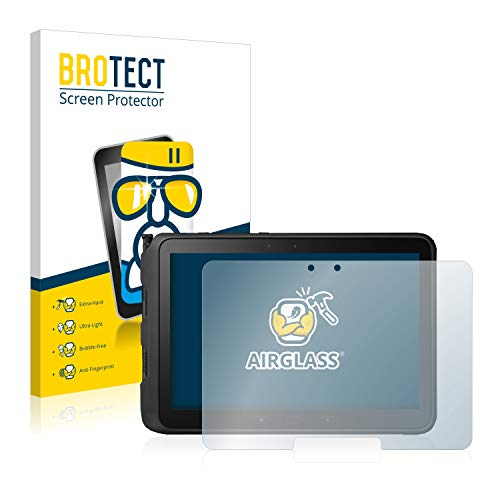 BROTECT Panzerglas Schutzfolie kompatibel mit Samsung Galaxy Tab Active Pro - AirGlass, extrem Kratzfest, Anti-Fingerprint, Ultra-transparent