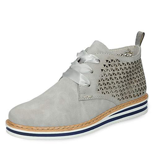 Rieker Damen N0247-40 Desert Boots, Grau (Cement/Grey 40), 41 EU