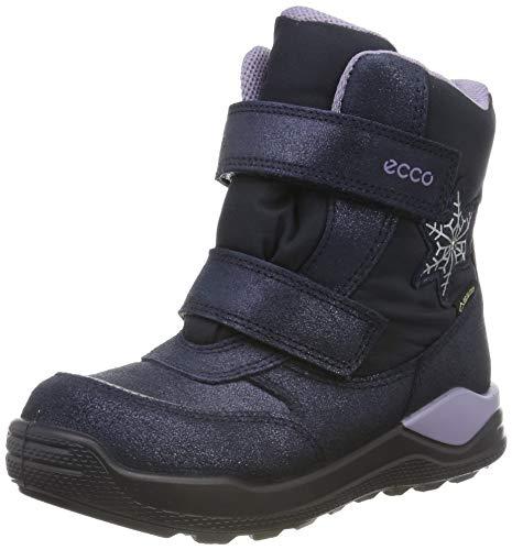 ECCO Mädchen URBAN Mini Sneaker, Blau (Marine 5038), 24 EU