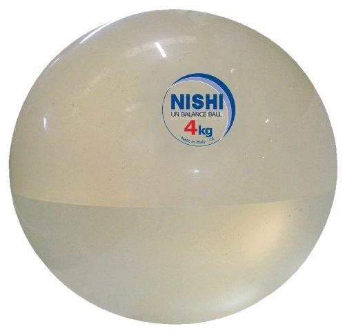 NISHI(ニシ・スポーツ) アンバランスメディシンボール 4kg NT5924