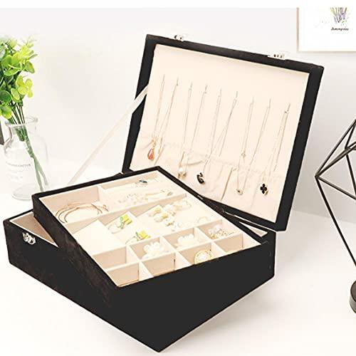 Bract Grande portagioie, organizer portatile per gioielli, impermeabile, regalo per ragazze e donne