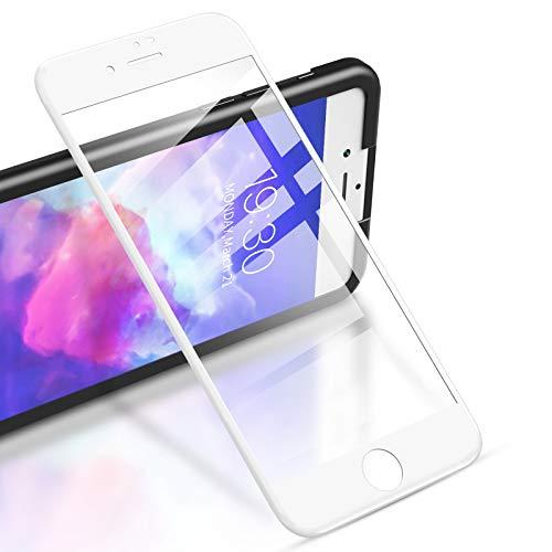 RIWNNI [2 Unidades Cristal Templado para iPhone 8 Plus/7 Plus, Cobertura Completa...