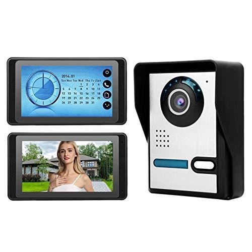 Night Vision 16 Music Smart Intercom Timbre de baja potencia TFT LCD de 7(European standard (110v-240v))