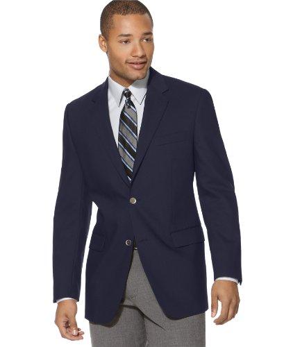 Calvin Klein Men's X Slim Fit Performance Blazer, Black, 44 Long