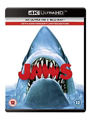 Jaws 4K [Blu-ray] [2020] [Region Free]