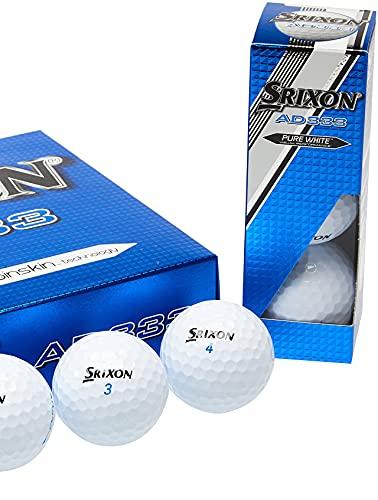 Srixon AD333 Golf Balls (12-Pack)