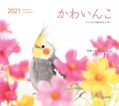 カレンダー2021 かわいんこ インコと小鳥のカレンダー (月めくり・壁掛け) (ヤマケイカレンダー2021)の詳細を見る
