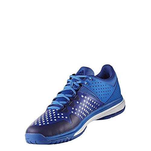 adidas Unisex Court Stabil Handballschuhe, Blau (Ftwbla Tinmis), 37 1/3 EU