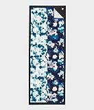 Manduka 2.0 Double Dye Blue Skidless Yoga Towel, 1 EA
