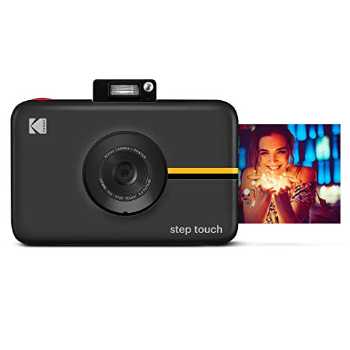 Kodak Step Touch | 13MP Digital Camera & Instant Printer with 3.5 LCD Touchscreen Display, 1080p HD Video - Editing Suite, Bluetooth & Zink Zero Ink Technology | Black (RODITC20AMZB)