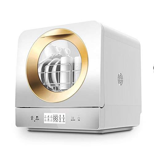 STAR BABY Mini - Geschirrspüler, Mini Geschirrspüler, 6 Programme: Eco, One Hour, Fast, Obst, Desinfektion und Glas, LED-Anzeige, Touch Control Bedienung