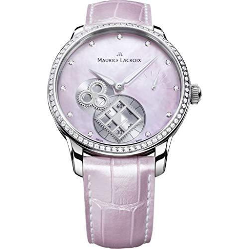 Reloj Maurice Lacroix MP7158-SD501-570-1 - Reloj Automático para Mujer, con Bisel de Diamantes