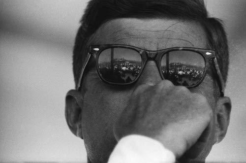 ConversationPrints John F Kennedy Sunglasses Glossy Poster Picture Photo Print JFK Old Cool