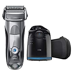 Braun Electric Razor for Men, Series 7 790cc Electric Shaver with Precision Trimmer, Rechargeable, W