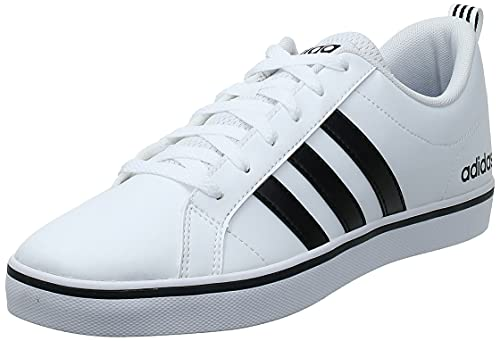 Adidas Vs Pace, Zapatillas Hombre, Blanco (Footwear White/Core Black/Blue 0), 41 1/3 EU