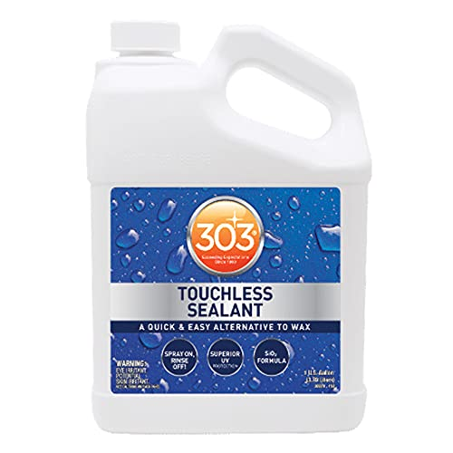 303 Touchless Sealant - SiO2 Technology - Water Activated Paint and Glass Protection - Spray On,...