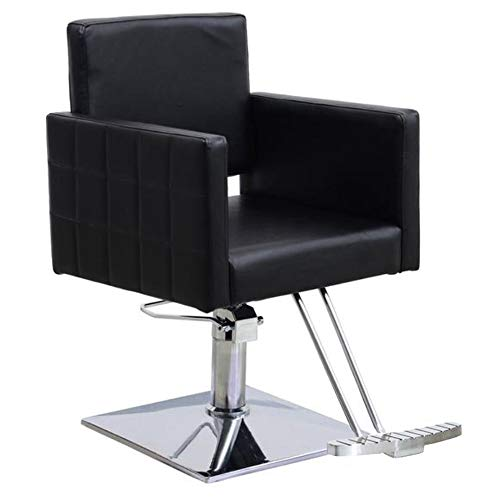 BarberPub Classic Styling Salon Chair for Hair Stylist Hydraulic Barber Chair Beauty Spa Equipment 8821