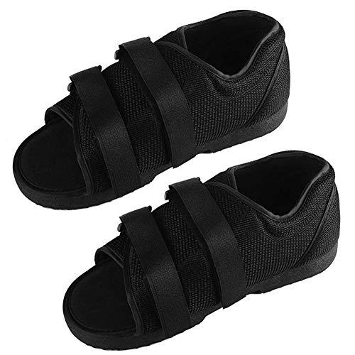 GHzzY Calzado para Caminar postoperatorio para pies o pies Rotos - Botín de Yeso médico para protección y recuperación del pie - Aparato para fracturas y Sandalia ortopédica (2 Piezas),WL
