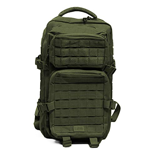 OSAGE RIVER Tactical Backpack with MOLLE Webbing, OD Green