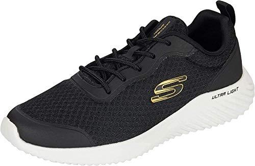 Skechers - Bounder - Zapatillas para hombre, color Negro, talla 45 EU