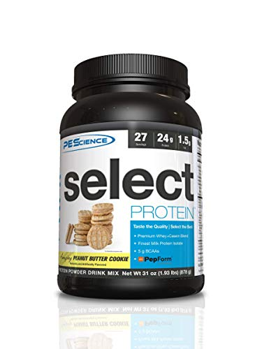 PEScience Select Protein 27 Servings Sports Supplement, 1 kg, Peanut Butter Cookie