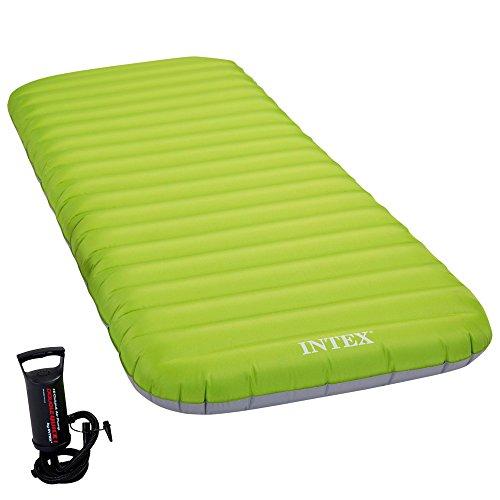 Intex Roll 'N Go Luftbett - Aufblasbare/Aufrollbare Matratze Für Camping - 76 x 191 x 13 cm - Mit Handpumpe