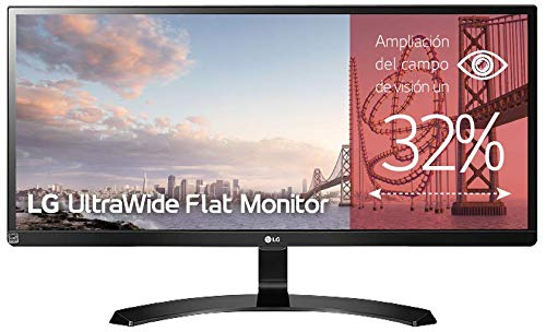 LG 29UM59A-P - Monitor para PC Desktop de 72 cm (29 pulgadas, Full HD 21:9, LED IPS 2560 x 1080...