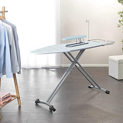 Polti Vaporella Top, ironing board, 124 x 48.5cm ironing surface, wheels