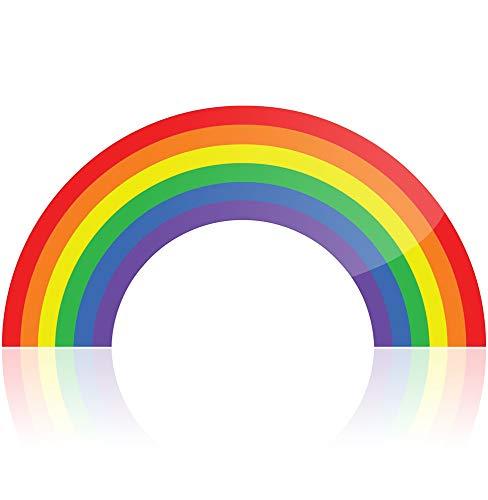 Waterproof Rainbow Vinyl Sticker for Car Laptop or Window