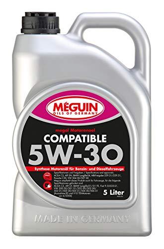 Meguin 6562 megol Motoröl Compatible SAE 5W-30, 5 L