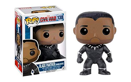 Funko POP!: Marvel: Captitán América: Civil War: Black Panther Exclusivo
